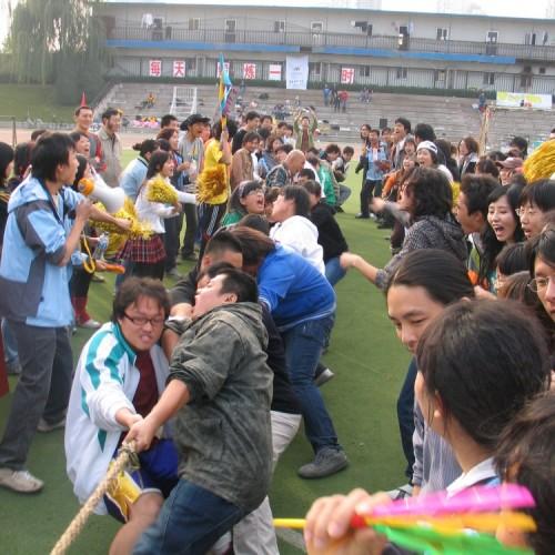 2006年运动会师生集体拔河