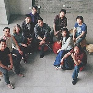 2008年视觉传达优秀教学团队合影
