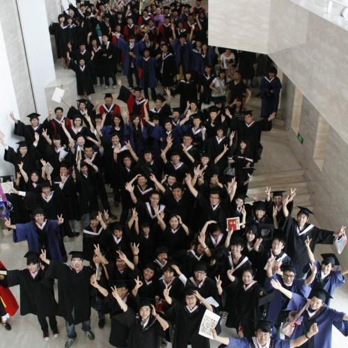 2008年校庆期间学院师生照片